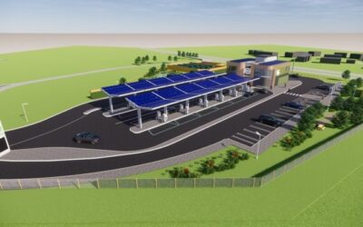 """Work Starts on """"Electric Petrol Station"""" in Essex"""