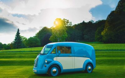 A True British Icon Returns: The All-New, All-Electric Morris JE