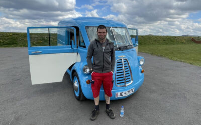 Morris JE to feature on Channel 4's 'Fastest Electric Car' with Guy Martin